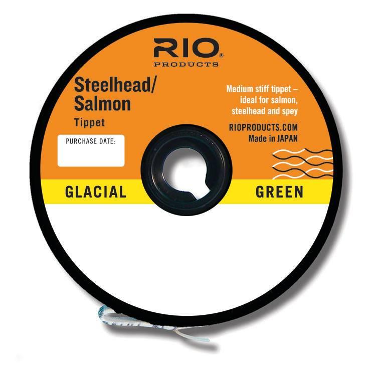 Rio Rio Salmon/Steelhead Glacial Green Tippet,
