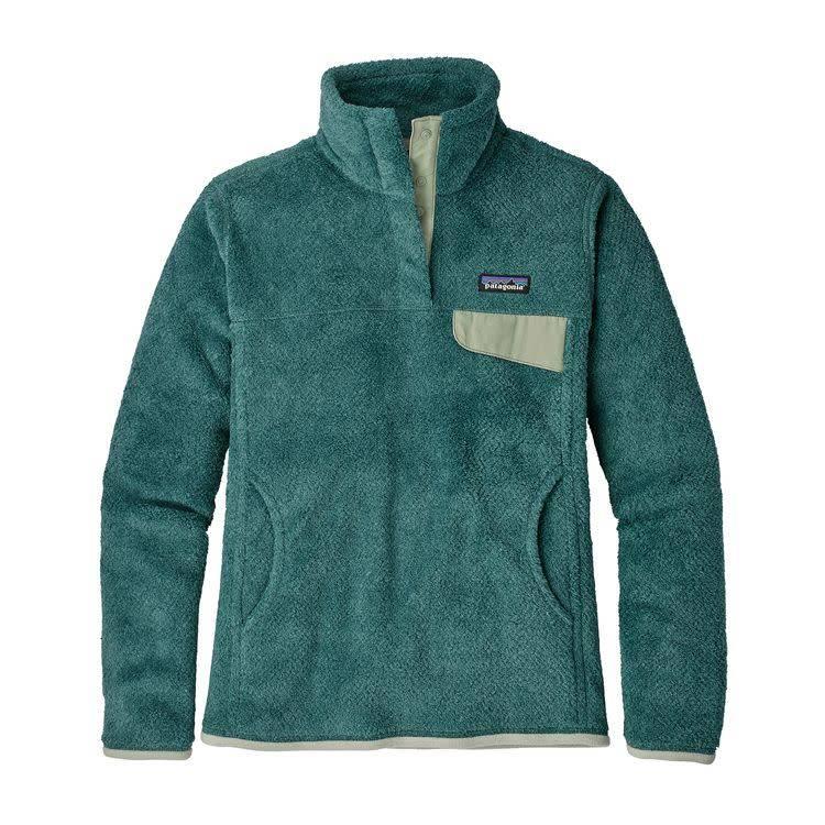 Patagonia W's Re-Tool Snap-T P/O Tidal Teal - Beryl Green X-Dye L