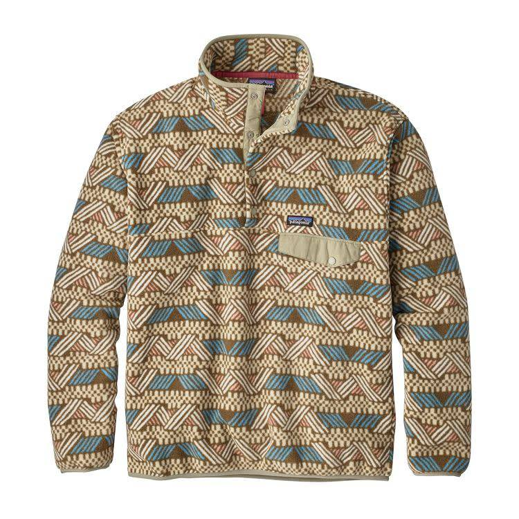Patagonia M's LW Synch Snap-T P/OCliffside: Stout Brown XL