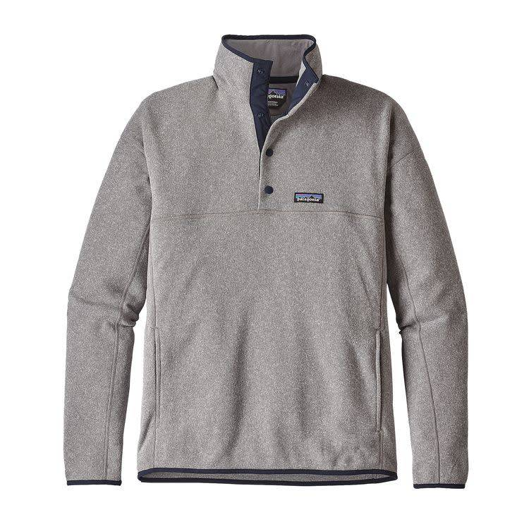 Patagonia M's LW Better Sweater Marsupial P/O Feather Grey XL