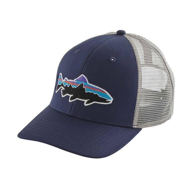Fitz Roy Trout Trucker Hat Classic Navy w/Drifter Grey ALL