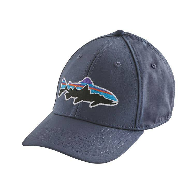 Fitz Roy Trout Stretch Fit HatDolomite Blue L
