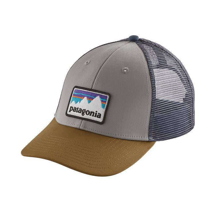 Shop Sticker Patch LoPro Trucker Hat Drifter Grey ALL