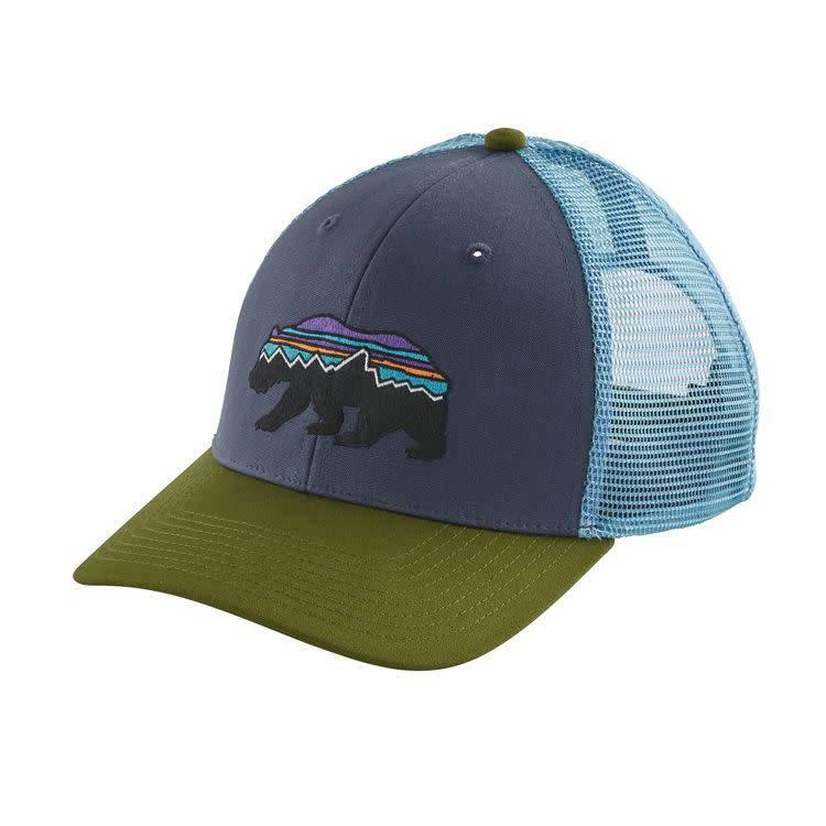 Fitz Roy Bear Trucker Hat Dolomite Blue ALL