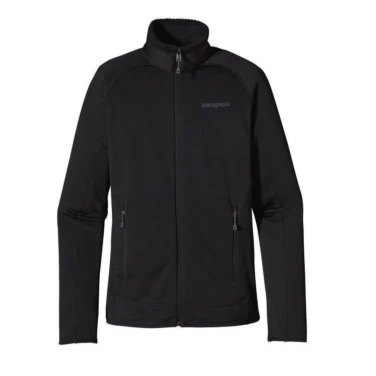 Patagonia W's R1 Full-Zip Jkt Black L