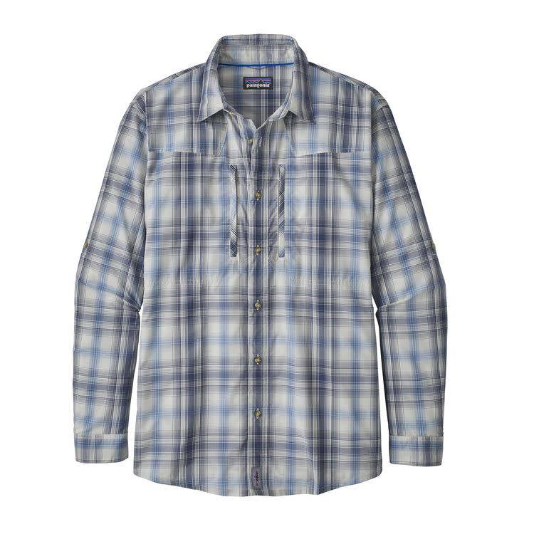 M's L/S Sun Stretch ShirtKing Swing: Radar Blue M