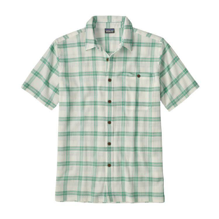 M's A/C Shirt Maker Small: Beryl Green L