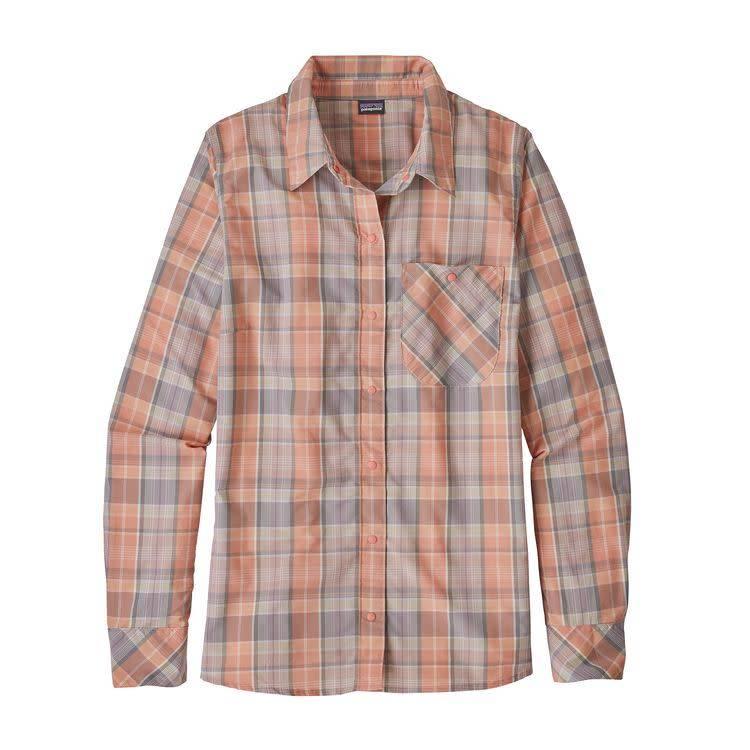 W's L/S Havasu ShirtWawona Plaid: Peak Pink S