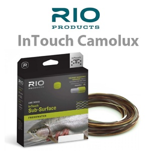Rio Products Rio InTouch CamoLux Fly Line,
