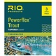 Rio Rio Powerflex Leader 3 pack,