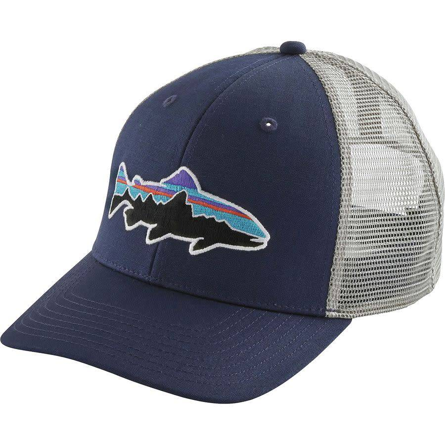 Fitz Roy Trout Trucker Hat Dolomite Blue ALL