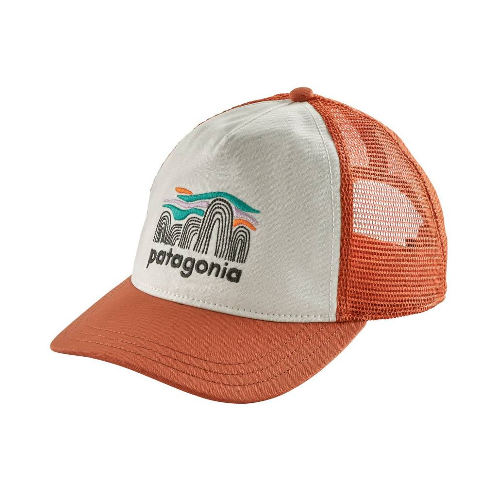 W's Fitz Roy Boulders Layback Trucker Hat White ALL