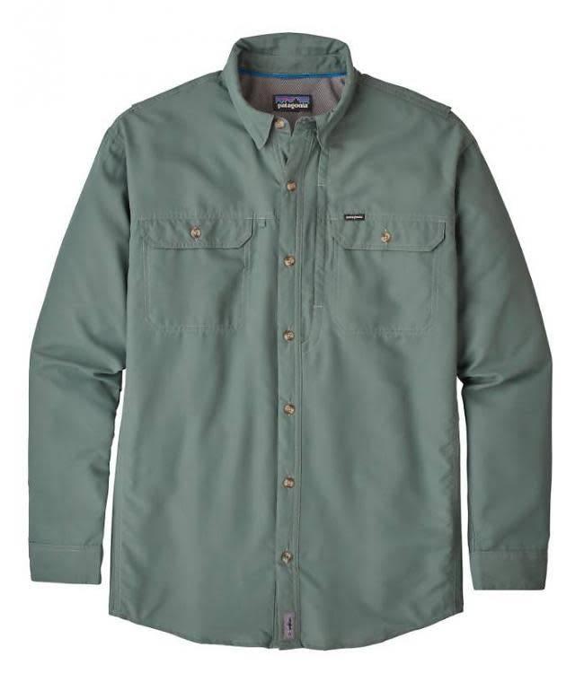 M's L/S Sol Patrol II Shirt Pesto L