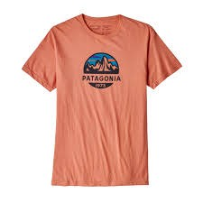 M's Fitz Roy Scope Organic T-Shirt Quartz Coral M