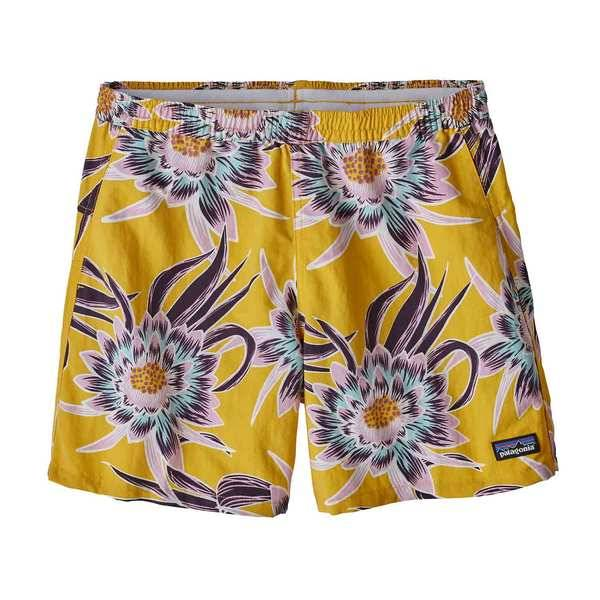 W's Baggies Shorts Cereus Flower: Rugby Yellow L
