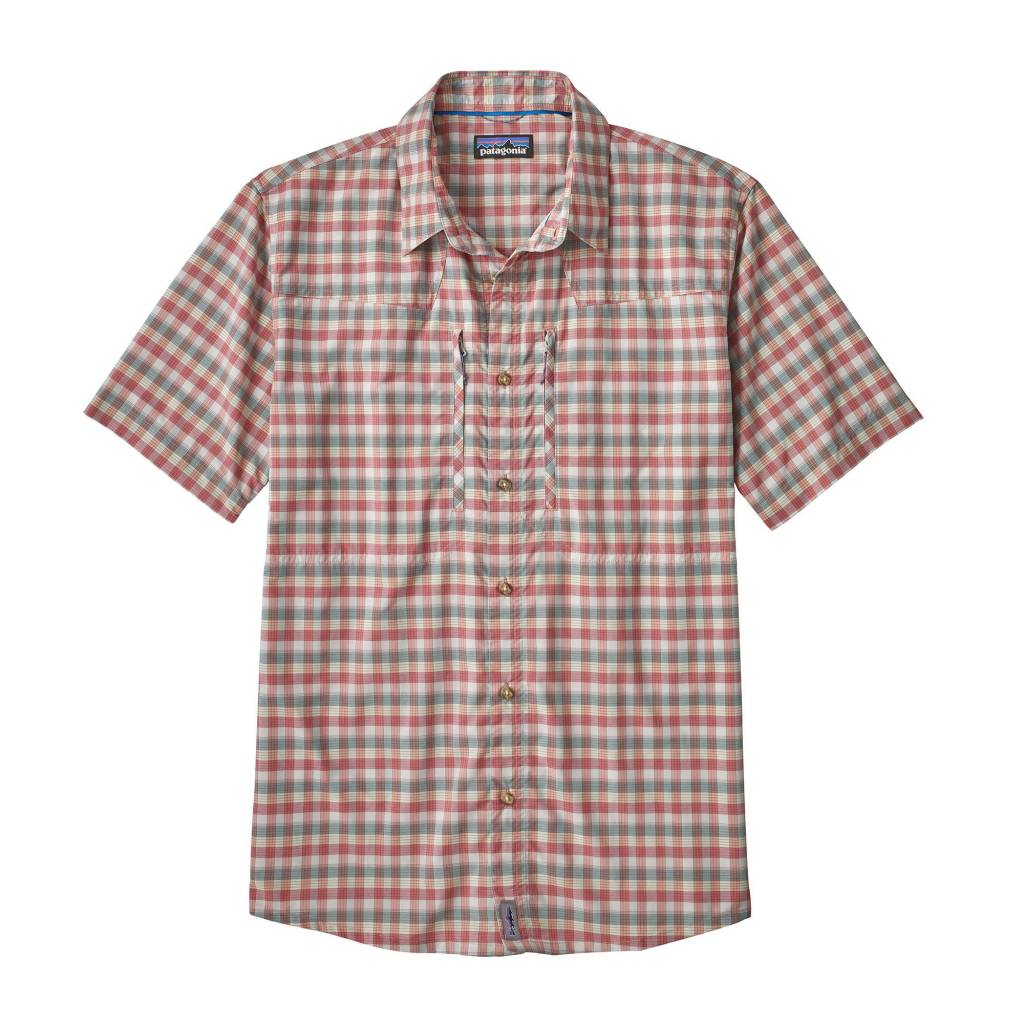 M's Sun Stretch Shirt Mauro: Static Red L