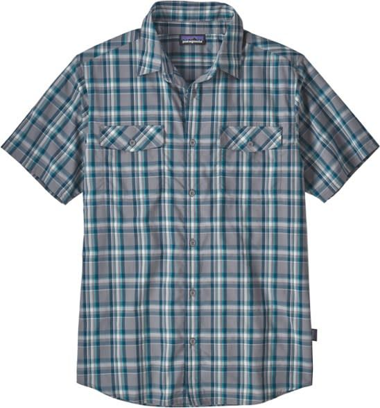 Patagonia M's High Moss Shirt Anchor: Feather Grey XL