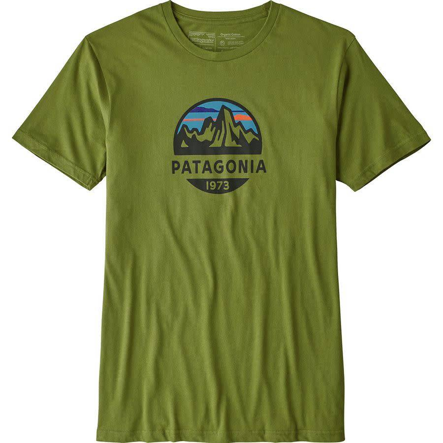 Patagonia M's Fitz Roy Scope Organic T-Shirt Sprouted Green L