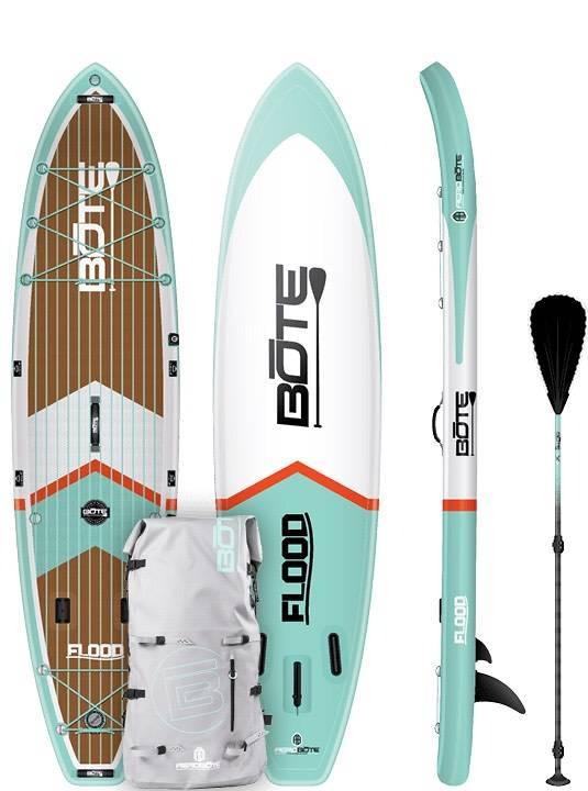 Bote LLC Bote Inflatable Flood Core 11' SUP Standup Paddleboard