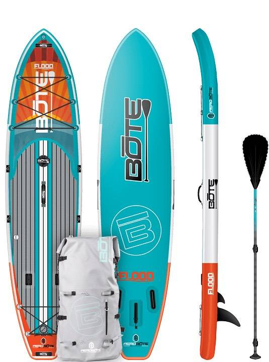 Bote LLC Bote Inflatable Flood Native 11' SUP Standup Paddleboard