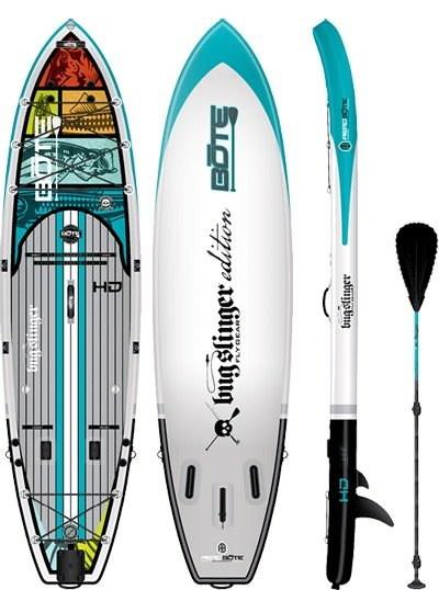 "Bote LLC Bote Inflatable HD Bugslinger 11'6"" SUP Standup Paddleboard"