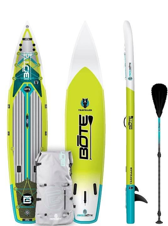 "Bote Bote Inflatable Native Traveller 12'6"" SUP Standup Paddleboard"