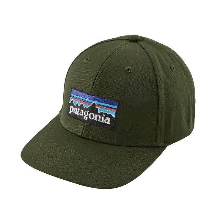 Patagonia P-6 Logo Roger That Hat Nomad Green ALL