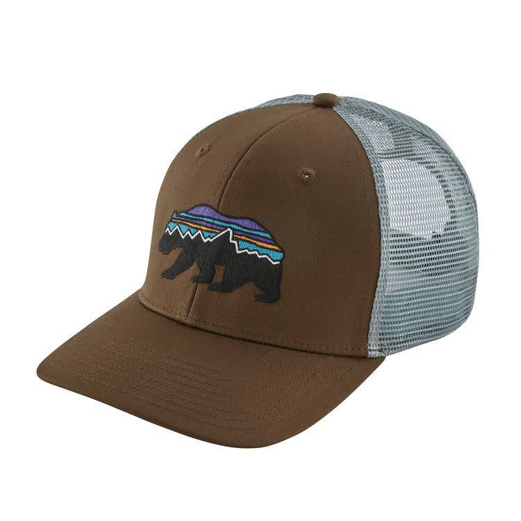 Patagonia Patagonia Fitz Roy Bear Trucker Hat Timber Brown ALL
