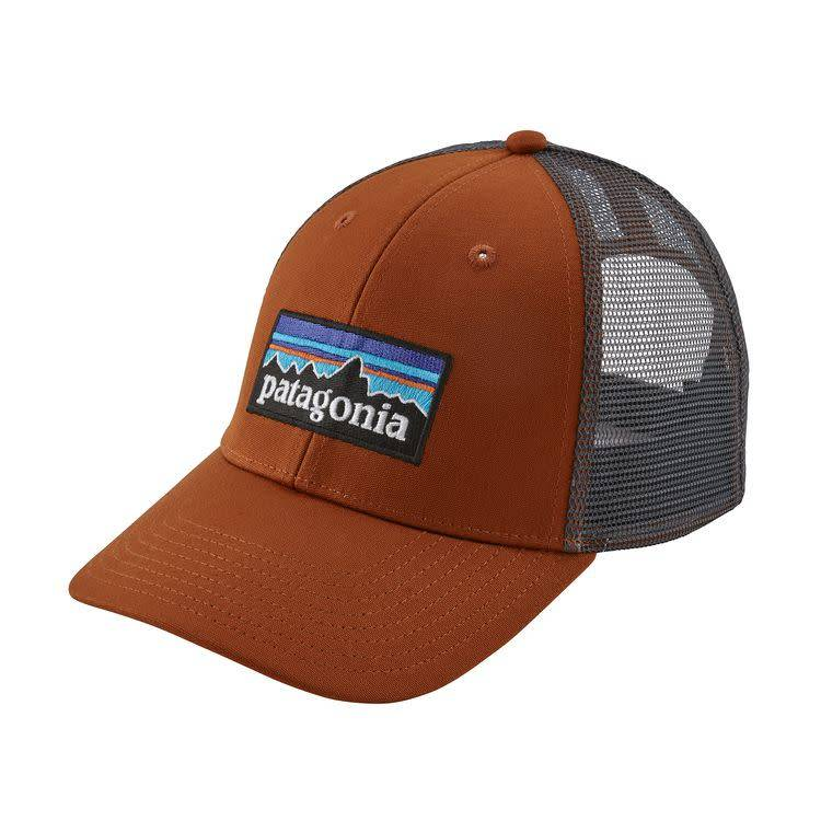Patagonia P-6 Logo LoPro Trucker Hat Copper Ore ALL