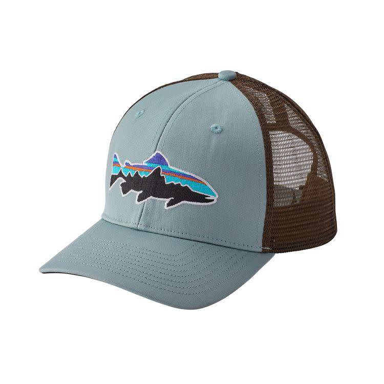 Patagonia Fitz Roy Trout Trucker Hat Cadet Blue ALL