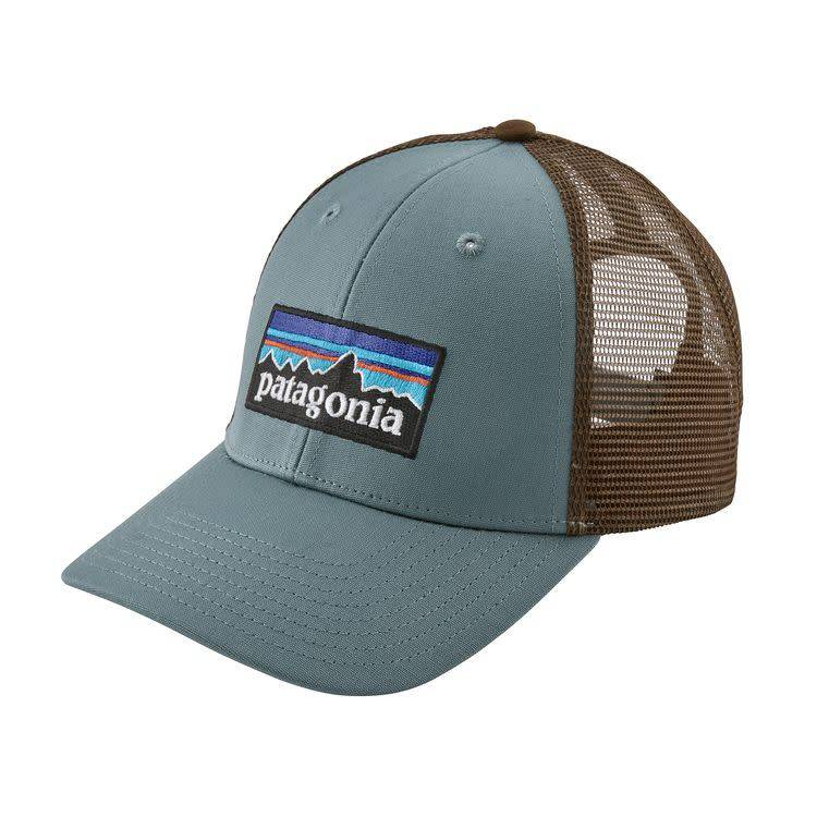Patagonia P-6 Logo LoPro Trucker Hat Shadow Blue ALL