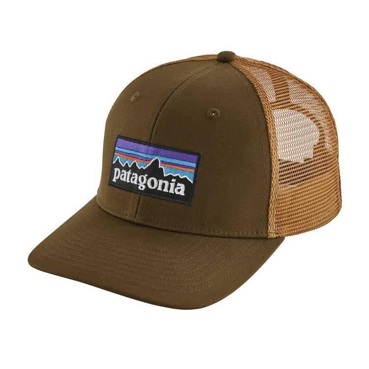 Patagonia P-6 Logo Trucker Hat Sediment ALL