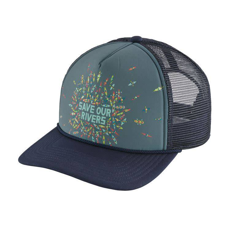 Patagonia Save Our Rivers Interstate Hat Classic Navy ALL