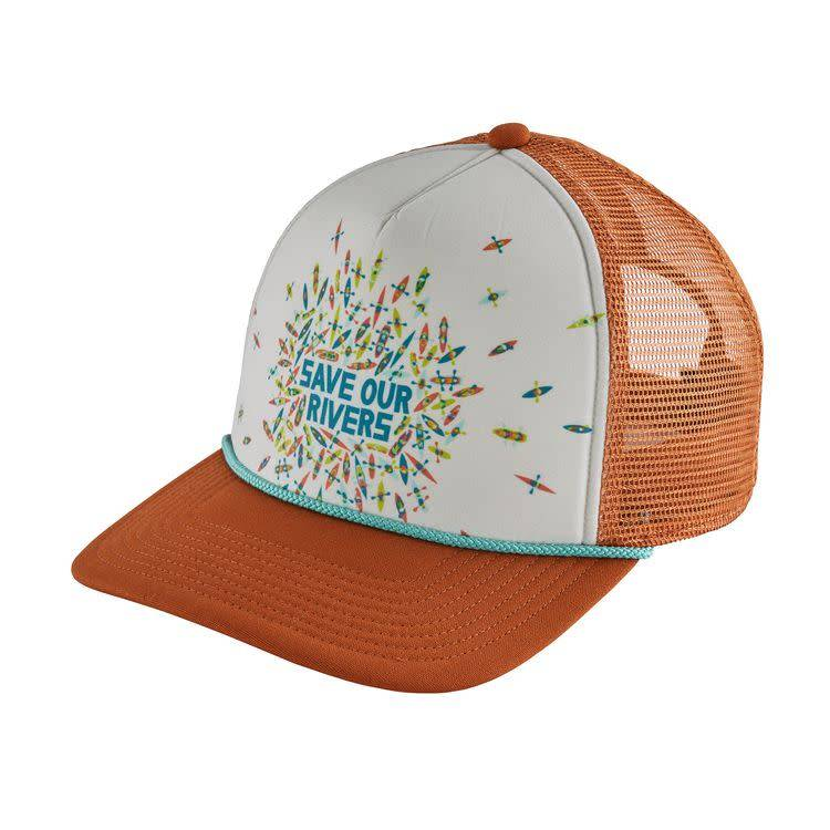Patagonia Save Our Rivers Interstate Hat Copper Ore ALL