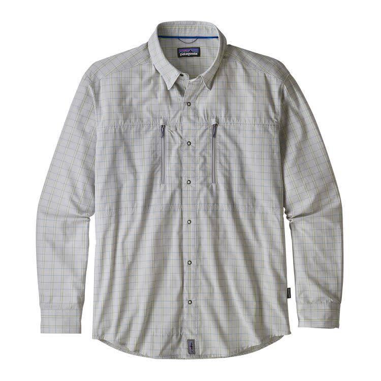 Patagonia Ms Congo Town Pucker Shirt Kick Back: Tailored Grey M