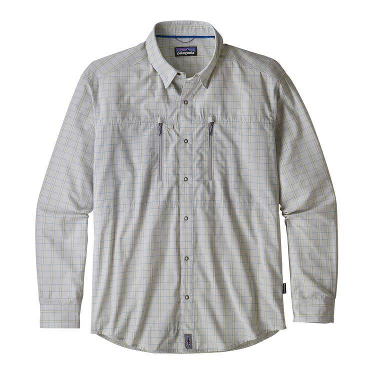 Patagonia Ms Congo Town Pucker Shirt Kick Back: Tailored Grey L