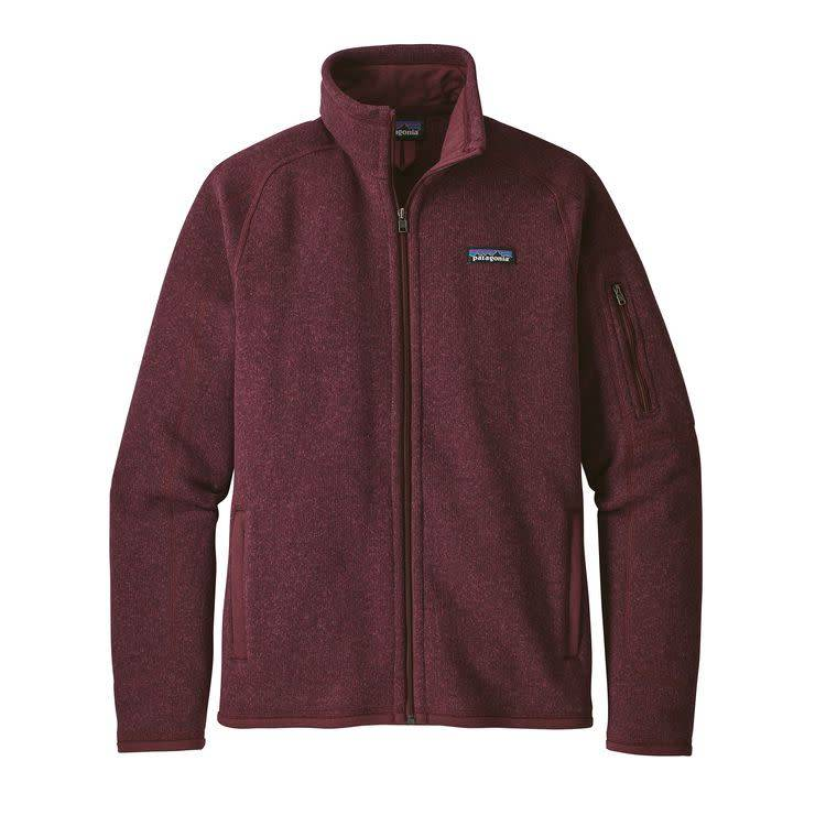 Patagonia Ws Better Sweater Jkt Dark Currant S