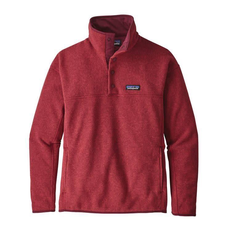Patagonia Ws LW Better Sweater Marsupial P/O Tomato L
