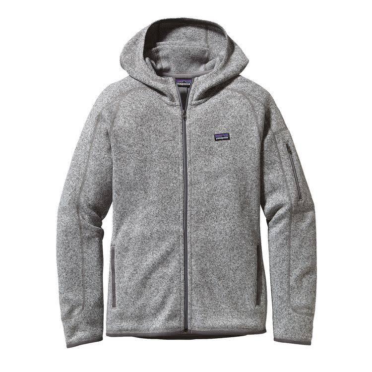 Patagonia Patagonia Ws Better Sweater Hoody Birch White L