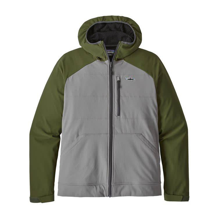 Patagonia Ms SnapDry Hoody Feather Grey M