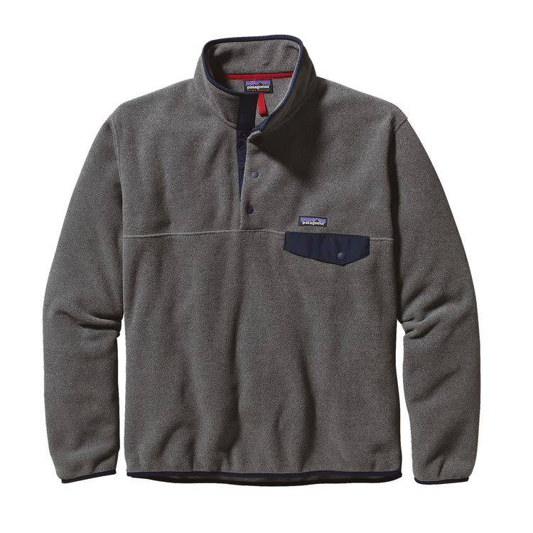 Patagonia Patagonia Ms LW Synch SnapT P/O Nickel w/Navy Blue XL