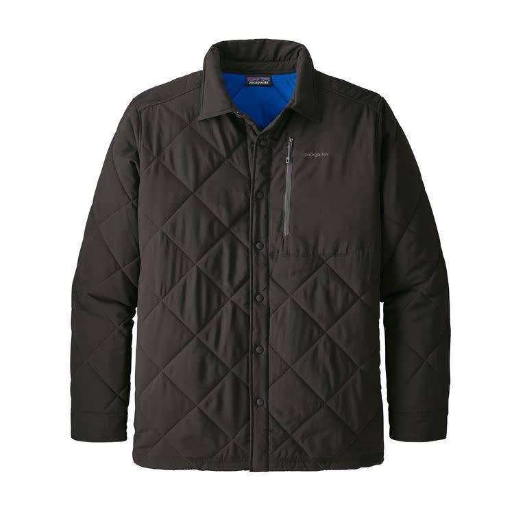 Patagonia Patagonia Ms Tough Puff Shirt Black w/Viking Blue XL
