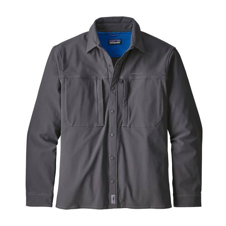Patagonia Patagonia Ms L/S SnapDry Shirt Forge Grey XXL