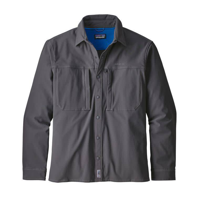 Patagonia Patagonia Men's L/S Snap-Dry Shirt Forge Grey M