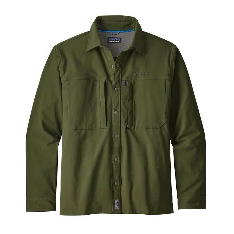 Patagonia Patagonia Ms L/S SnapDry Shirt Nomad Green L