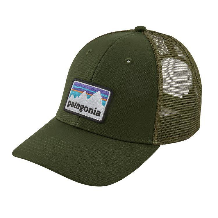 Patagonia Patagonia Shop Sticker Patch LoPro Trucker Hat Nomad Green ALL