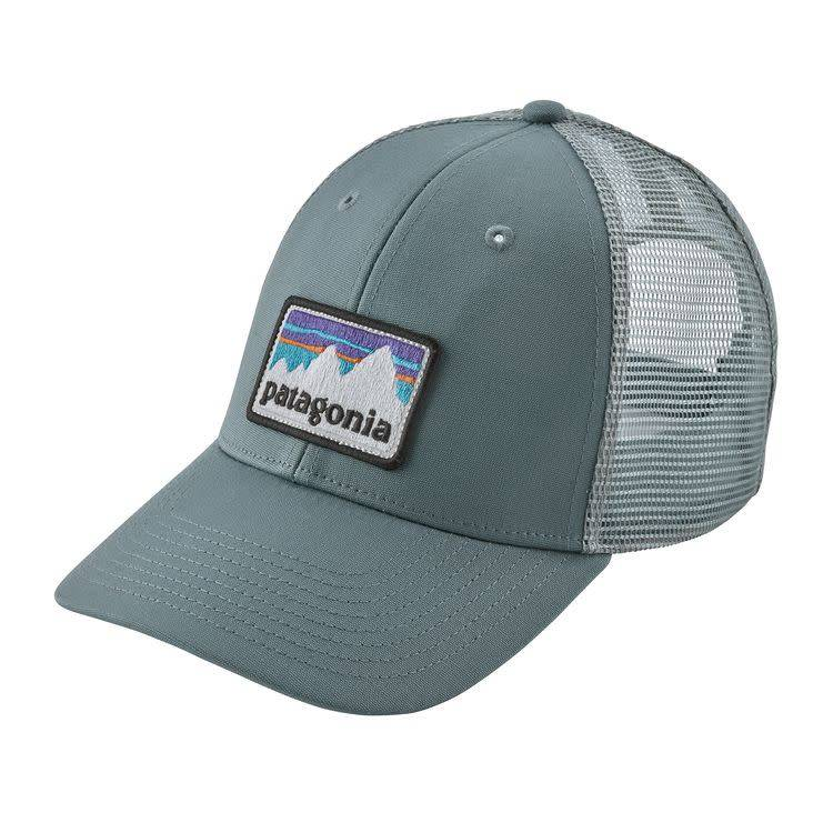 Patagonia Patagonia Shop Sticker Patch LoPro Trucker Hat Shadow Blue ALL