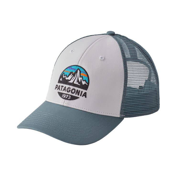 Patagonia Patagonia Fitz Roy Scope LoPro Trucker Hat White w/Shadow Blue ALL