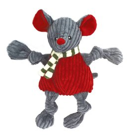 HuggleHounds Huggle Hounds Christmas Plush Corduroy Durable Holiday Mouse Knotties 2017