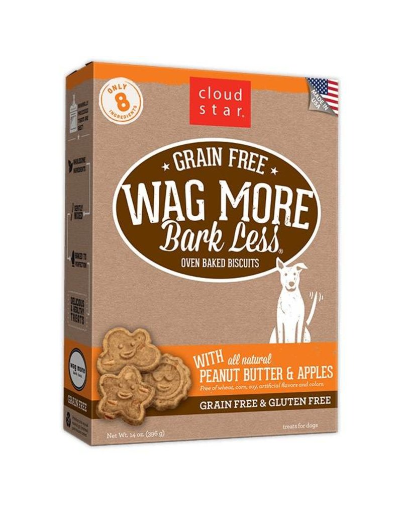 Cloud Star Cloud Star Gluten Free Wag More Bark Less 14 oz